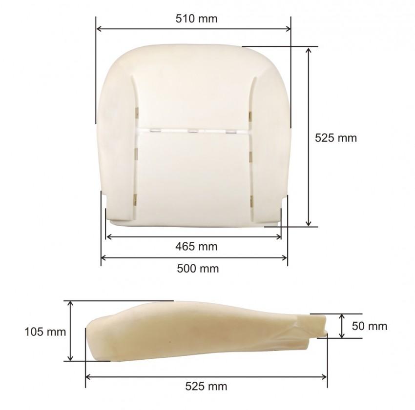 sitzpolster schaumpolster polster sitzschaum sitz peugeot. Black Bedroom Furniture Sets. Home Design Ideas