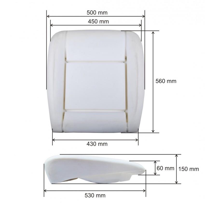 sitzpolster sitzschaum vw volkswagen t5 10 klammern. Black Bedroom Furniture Sets. Home Design Ideas